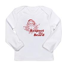 Respect the Beard Long Sleeve Infant T-Shirt