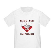 Kiss Me I'm Polish T