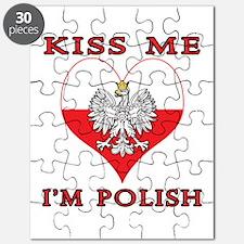 Kiss Me I'm Polish Puzzle