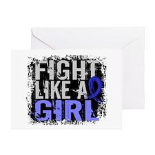 Fight Like a Girl 31.8 CFS Greeting Card