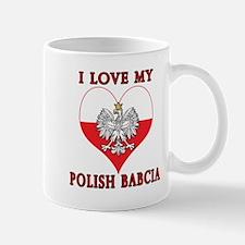 I Love My Polish Babcia Mug