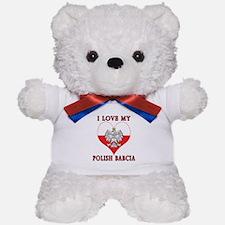 I Love My Polish Babcia Teddy Bear
