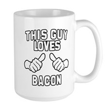 This Guy Loves Bacon Mug