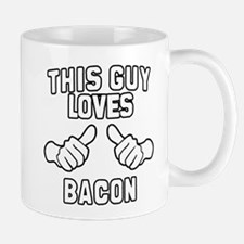 This Guy Loves Bacon Mug