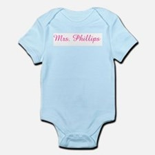 Mrs. Phillips  Infant Creeper