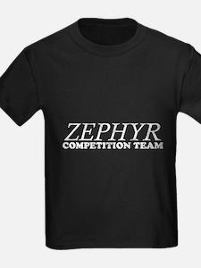 ZEPHYR_COMPETITION_TEAM_FRONT2 black T-Shirt