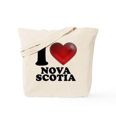 I Heart Nova Scotia Tote Bag