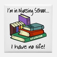 Nursing School Tile Coaster
