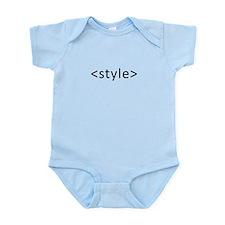 Style Open Dark Infant Bodysuit