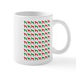 Irish Setter Christmas or Holiday Silhouettes Mug