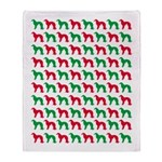 Irish Setter Christmas or Holiday Silhouettes Sta