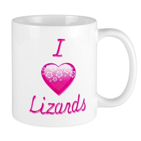 I Love/Heart Lizards Mug