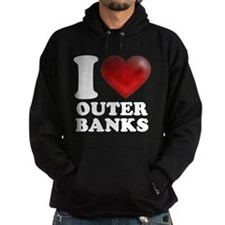 I Heart Outer Banks Hoodie