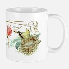 Gold Finch Painting Mug