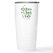 Crazy Plant Lady Stainless Steel Travel Mug