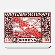 1924 Hungary Icarus Postage Stamp Mousepad