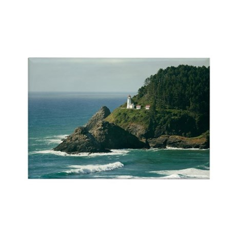 Heceta Head Lighthouse Rectangle Magnet