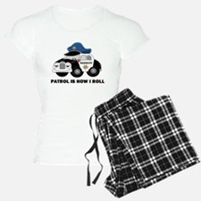 Sheriff Car Patrol Is How I Roll Pajamas