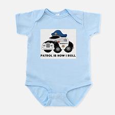 Sheriff Car Patrol Is How I Roll Infant Bodysuit