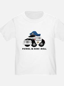 Sheriff Car Patrol Is How I Roll T
