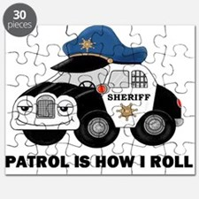 Sheriff Car Patrol Is How I Roll Puzzle