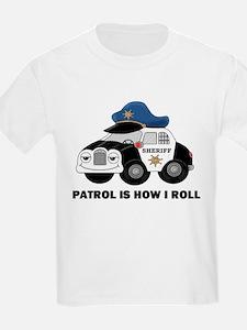 Sheriff Car Patrol Is How I Roll T-Shirt