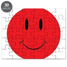 Red Happy Face Puzzle
