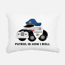 Sheriff Car Patrol Is How I Roll Rectangular Canva