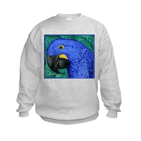 Hyacinth Macaw Kids Sweatshirt