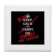 run zombies Tile Coaster
