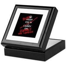 run zombies Keepsake Box