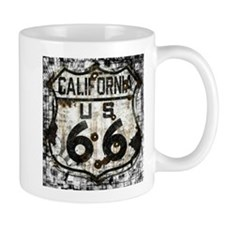 California Route 66 New Is Old Mug