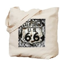 California Route 66 New Is Old Tote Bag