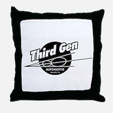 Third Gen Automotive Throw Pillow