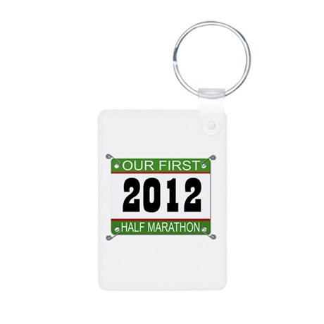 Our First 1/2 Marathon Bib - 2012 Aluminum Photo K
