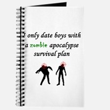 Zombie Dating Journal