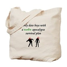 Zombie Dating Tote Bag