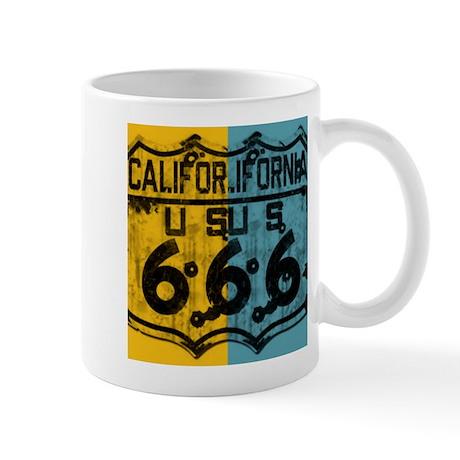 California Route 666 Mug