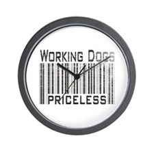 Working Dogs Wall Clock