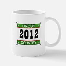 Cross Country Bib - 2012 Mug