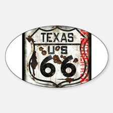 Texas Route 66 Used and Abused Decal