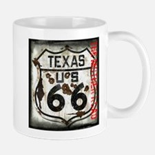 Texas Route 66 Used and Abused Mug