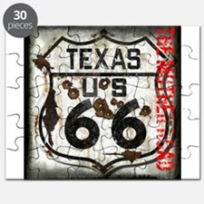 Texas Route 66 Used and Abused Puzzle