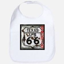 Texas Route 66 Used and Abused Bib