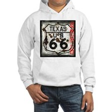Texas Route 66 Used and Abused Hoodie