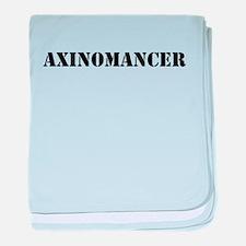 Axinomancer baby blanket