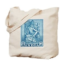 1949 India Bodhisattva Postage Stamp Tote Bag