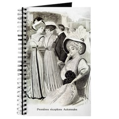 1907 Reception Gowns Journal