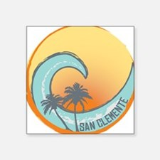 San Clemente Sunset Crest Sticker