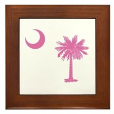 Palmetto & Cresent Moon Framed Tile